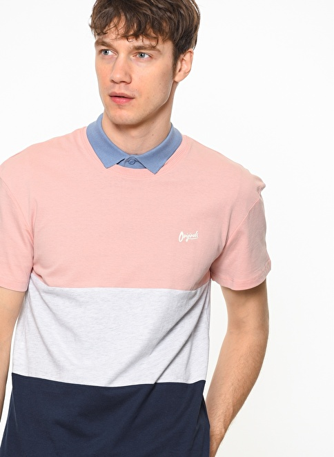 Jack & Jones Polo Yaka Tişört Pembe